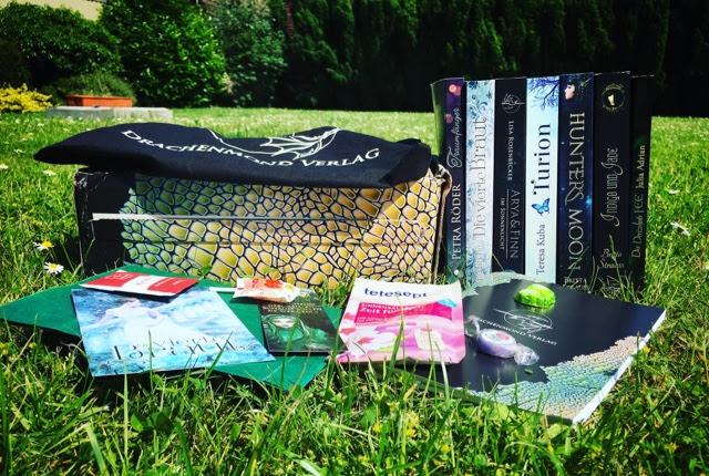 Buchboxen im Test : die Drachenmondbox