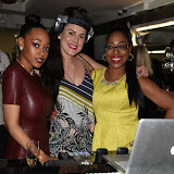OIC - ENTSIMAGES.COM - Imani Evans, DJ Lucy Stone and Susan Evans at the Anesis  TV launch party at Clapham Common London 20th June 2915 Photo Mobis Photos/OIC 0203 174 1069