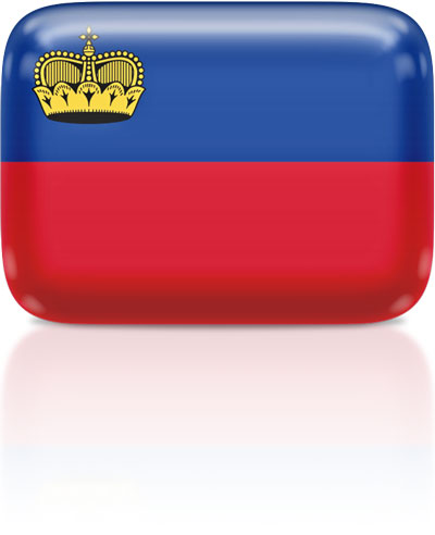 Liechtenstein flag clipart rectangular