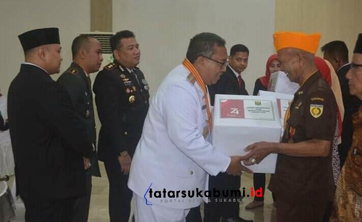 Momentum Hari Kemerdekaan Pemkab Sukabumi Beri Kadedeuh Pahlawan