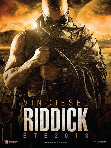 Picture Poster Wallpapers Riddick (2013) Full Movies