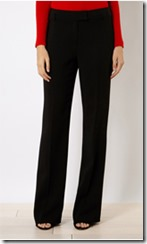 Karen Millen tailored black trousers