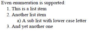 enumerators-markup