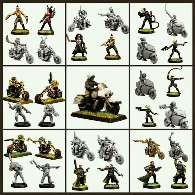 Motos Postapocalipticas de Kill Miniatures