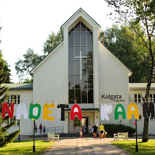 Kunsti- ja piiblipäevad lastele Kolgata pargis, august 2014
