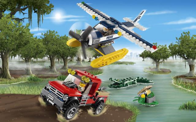 Bộ xếp hình Lego City 60083 Xe Tải cào tuyết Snowplow Truck