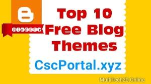 Top Free Theme Template  For  Blogger | Blogger Ke liye Top 10 Theme