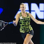 Karolina Pliskova in action at the 2016 Australian Open