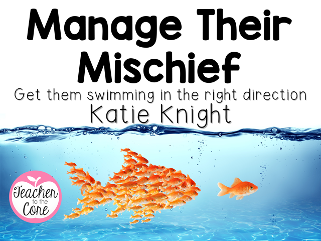 Manage their Mischief cover