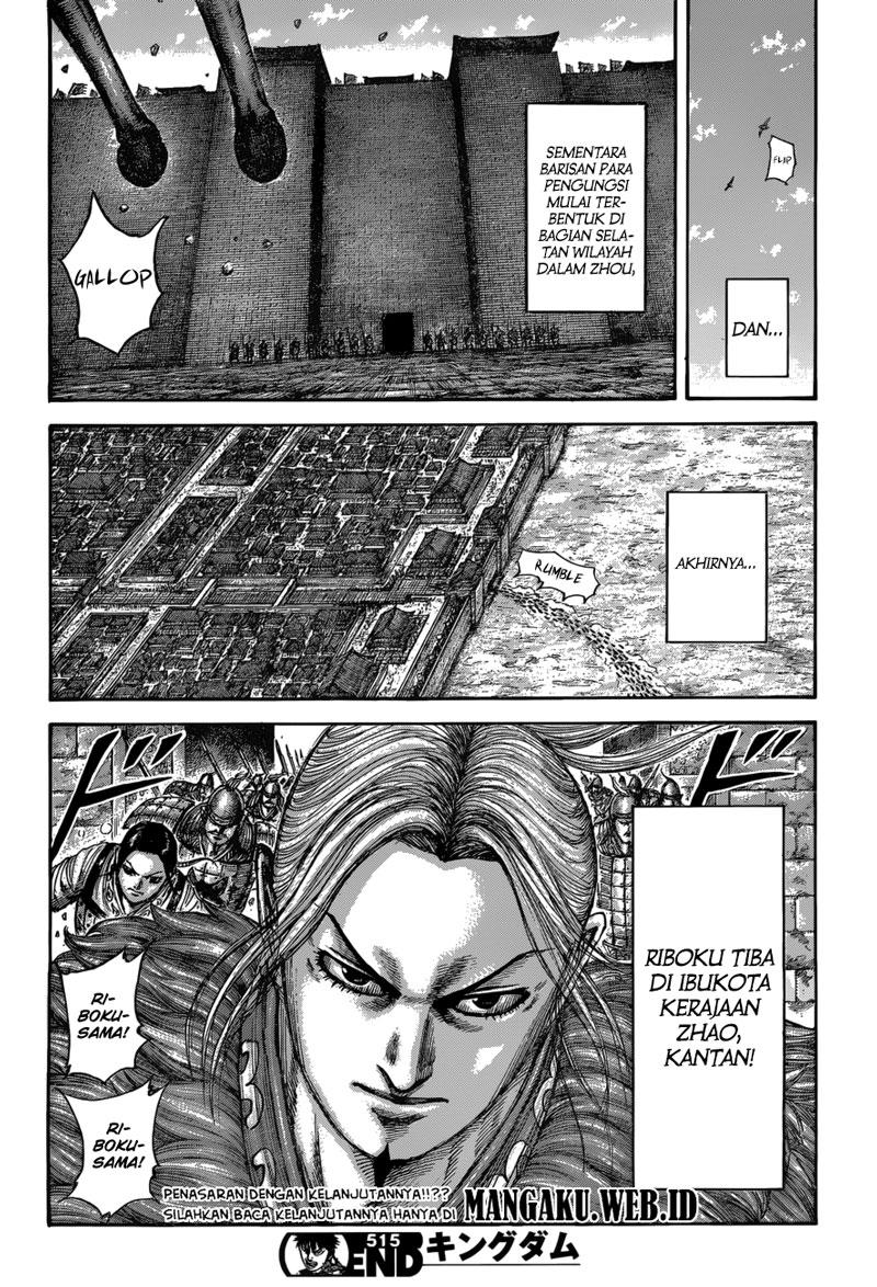 Baca Manga Kingdom Chapter 515 Komik Station