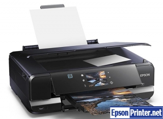 Reset Epson XP-950 printing device with application