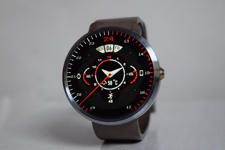android Phroton Interactive Watch Face Screenshot 1