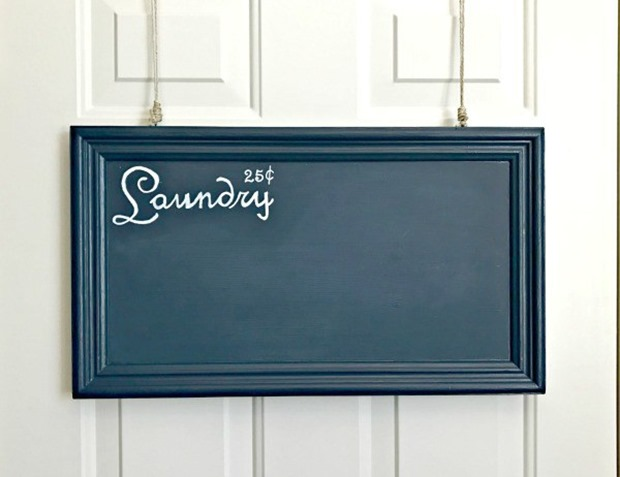 laundrydiychalkboardsign