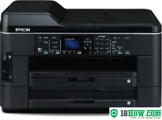 How to reset flashing lights for Epson PX-1700F printer
