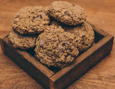 Gluten-Free Oatmeal Cherry Cookies