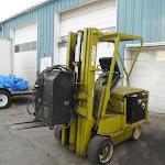 forklift + scrap car 13 07 12 003 - Forklift - Port Coquitlam.JPG