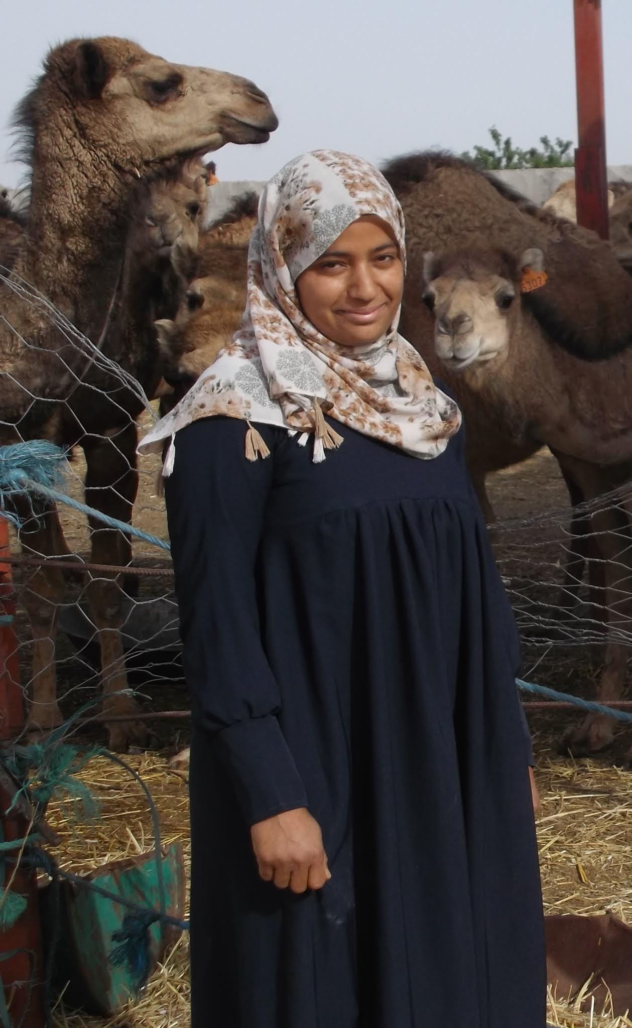 Imen Rezgui, promotrice du projet engraissement des chamelons à Benguerdane