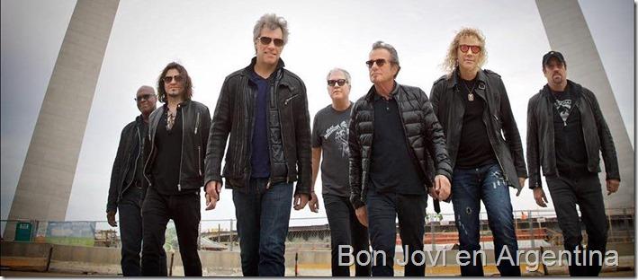 Bon Jovi en Argentina 2017 en Buenos Aires Estadio Velez compra en linea baratas en primera fila meet and greet