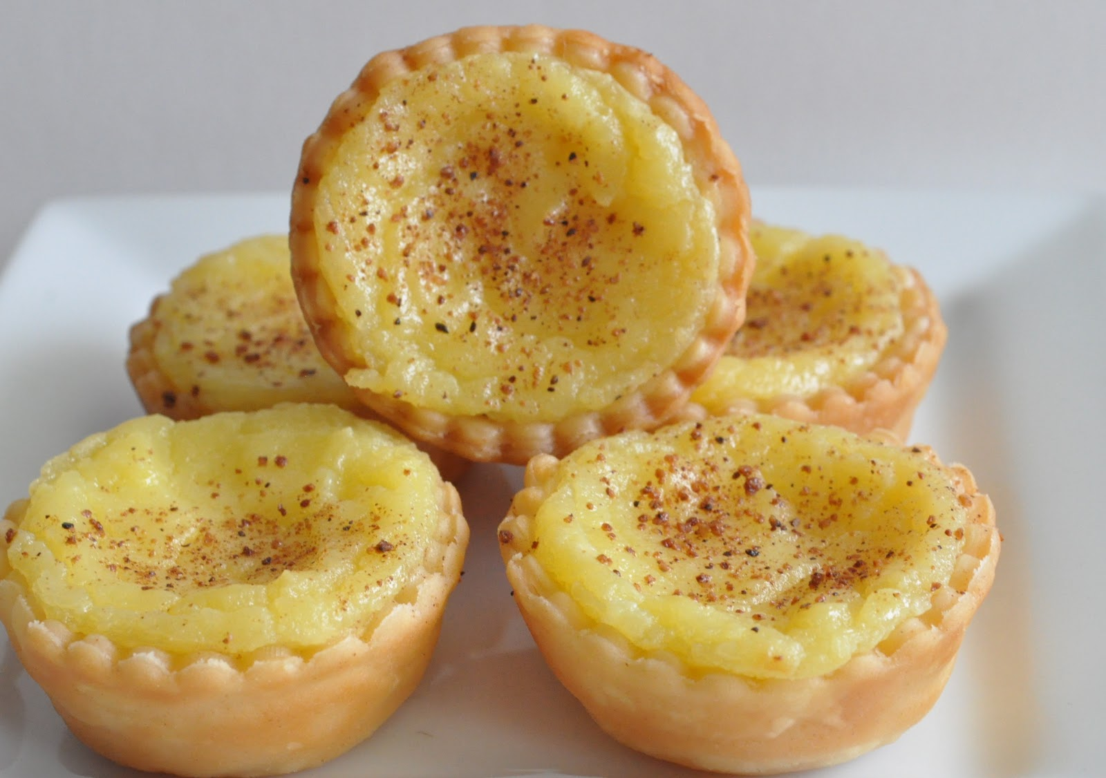 ... That's Left Are The Crumbs: To Try Tuesday - Portuguese Custard Tarts