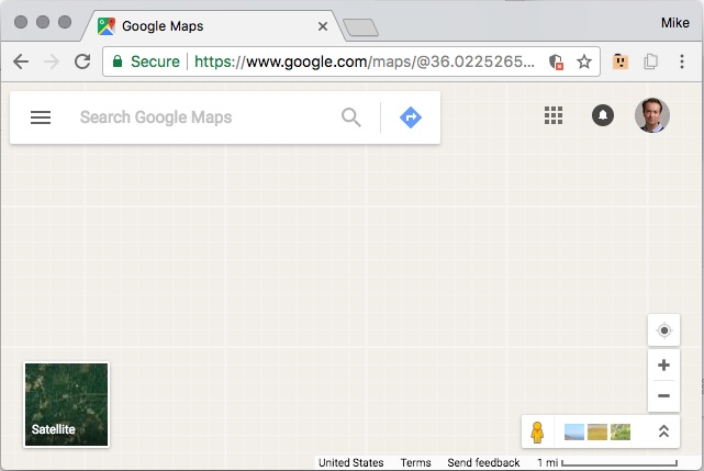 Can't use Google maps at all in Chrome - Google Maps Help on