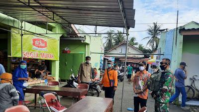 Hasil Rapid Test Covid-19 Puluhan Pedagang Pasar di Kenteng Reaktif