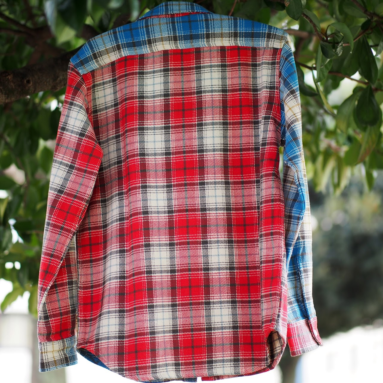 Five Brother / Extra Heavy Flannel Work Shirt