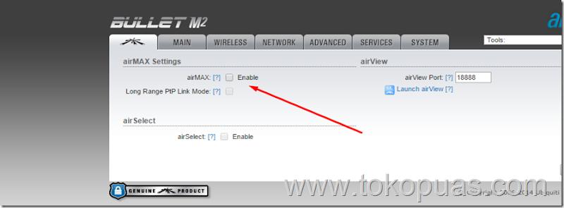 cara menjadikan ubnt bullet m2hp menjadi router