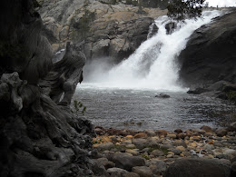 Tuolumne river falls.