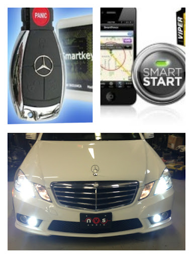 Nvs audio mercedes benz remote car starters at nvs audio for Mercedes benz car starter