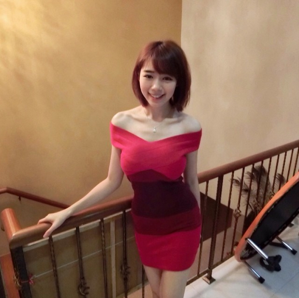 細腰+美腿+巨乳「林明禎」 網友讚極品女神 三圍 個人資料 臉書