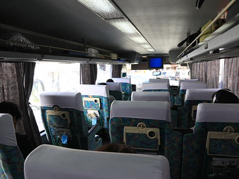 西鉄高速バス「桜島号」 9134 車内 その3