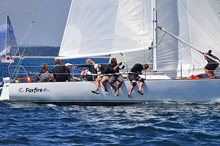 J/29 Foxfire- sailing fast in style