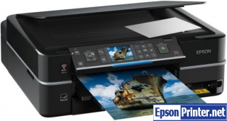 How to reset Epson PX710W with program