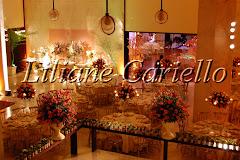 Fotos de decoração de casamento de Casamento no Jockey Club Brasileiro da decoradora e cerimonialista de casamento Liliane Cariello que atua no Rio de Janeiro e Niterói, RJ.
