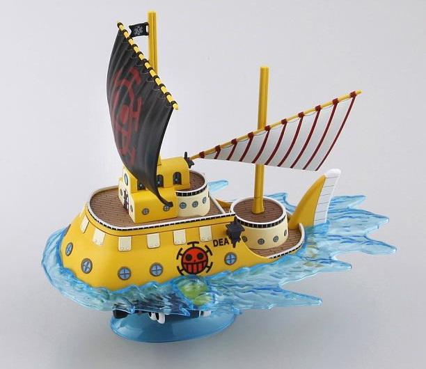 Đồ chơi Mô hình Tàu One Piece Trafalgar Law's Submarine cùng hiệu ứng nước biển độc đáo