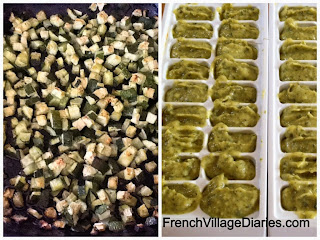 french village diaries courgette zucchini cream
