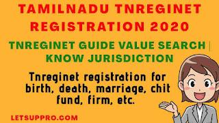 Tnreginet Registration 2020