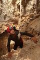 James Alker and Pom Pom formation, Whiterock Cave | photo © Robbie Shone