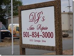 DJ's Auto Repair, North Little Rock/Sherwood Arkansas
