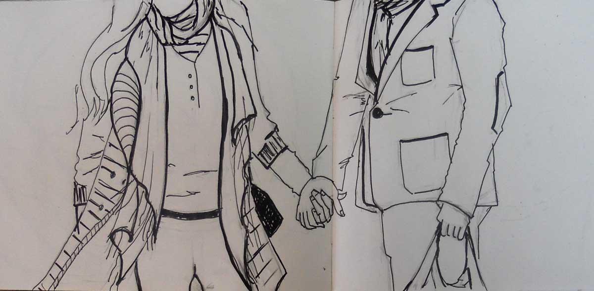 Ladrones de Cuadernos Parejas