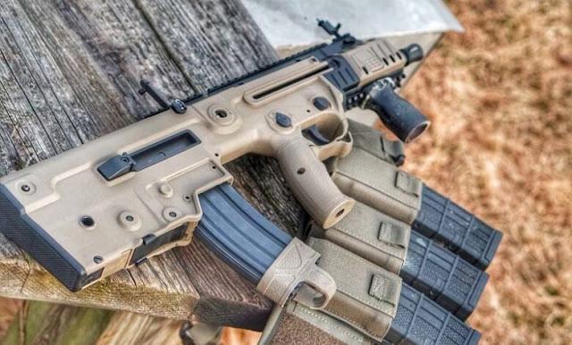 ndia-made Israeli Tavor X 95 rifles