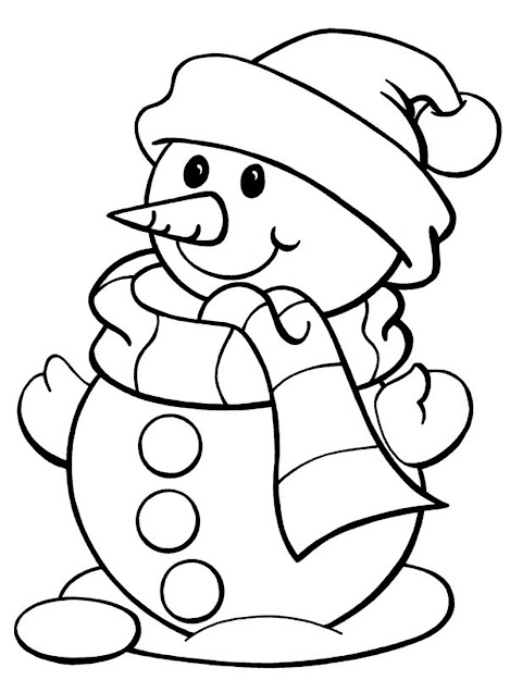 Free Winter Coloring Pages  Coloring Page