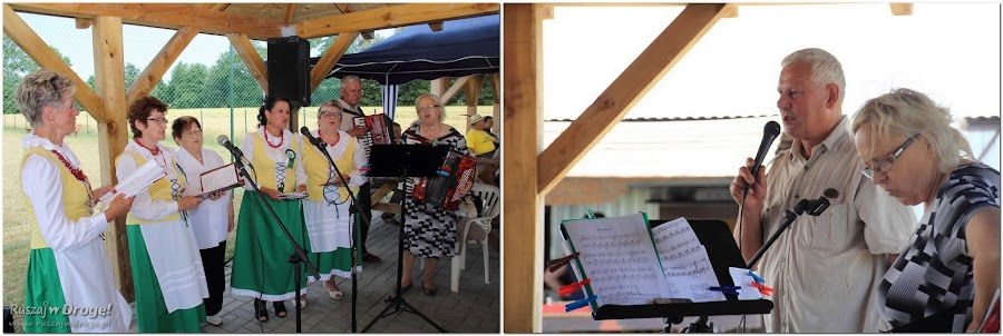 Biesiada w Sołectwie Piaskowiec - śpiewy, tańce i recytacje