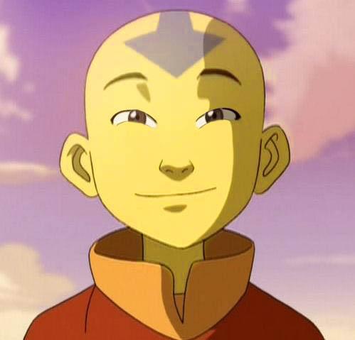 Aang con estereotipo asiatico