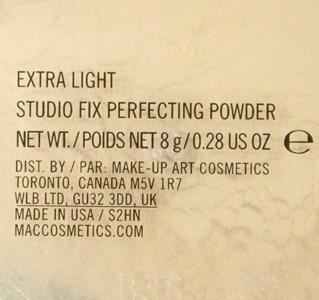 ExtraLightStudioFixPerfectingPowderMAC3