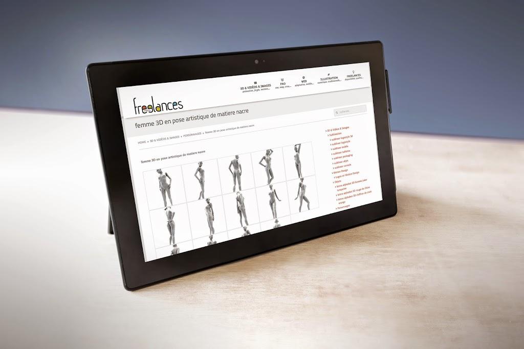 capture écran pour tablettes sublimer présentation responsive web design conception site web adaptatif surface pro