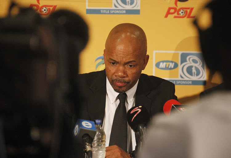 Chippa United's new caretaker-coach, Teboho Moloi. File photo.