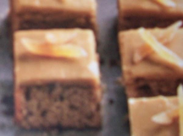 Triple-ginger Squares Recipe