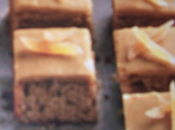 Triple-ginger Squares Recipe