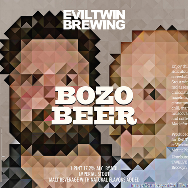Evil Twin - Bozo Beer 16oz Cans